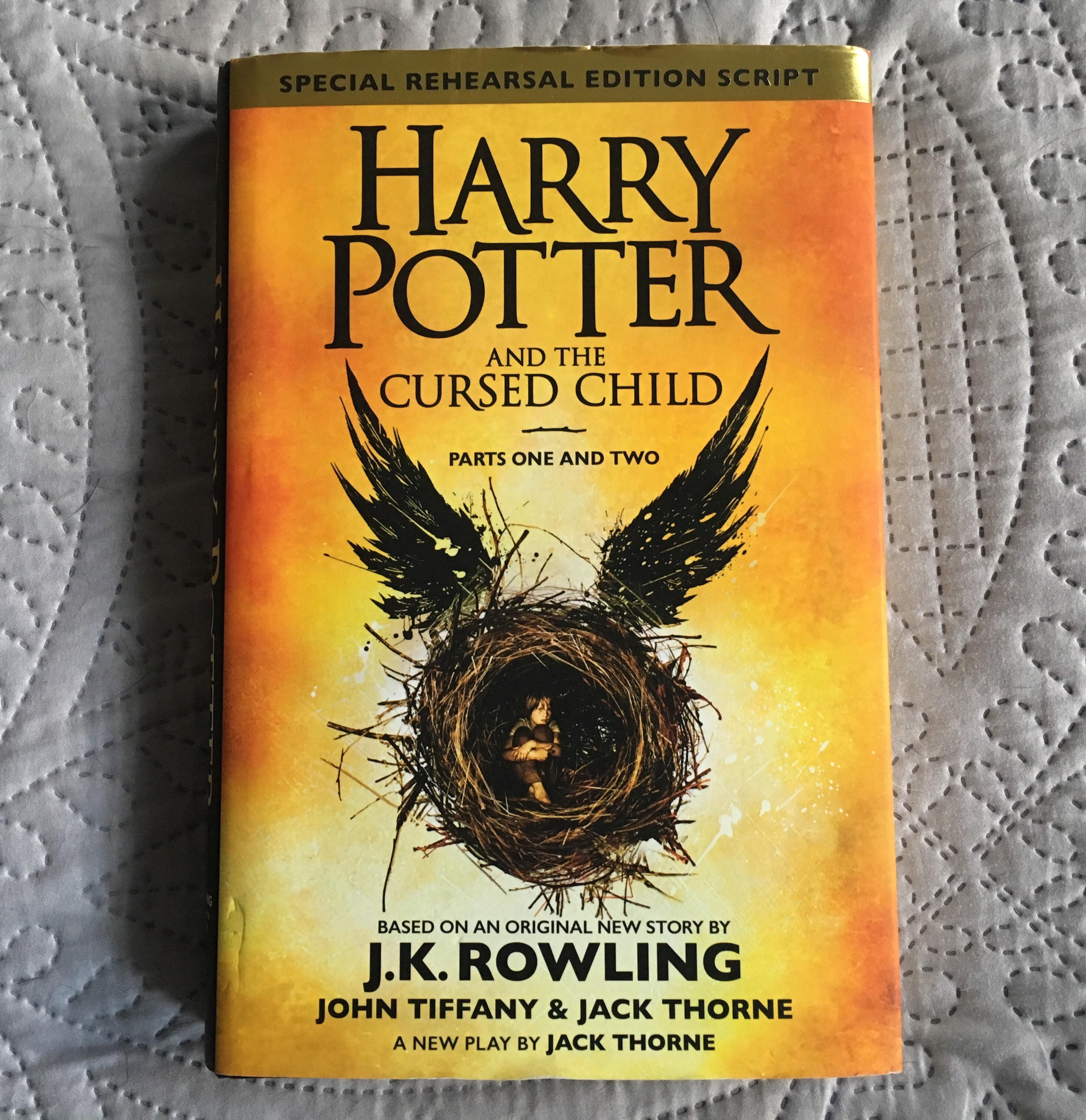 Harry Potter Book Summary : Book review harry potter and the cursed child lulubellelife